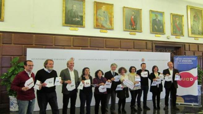 El acto se ha celebrado en Zaragoza