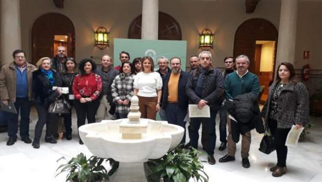 Presentación de los I Premios de Artesanía en Andalucía y entrega de ayudas.