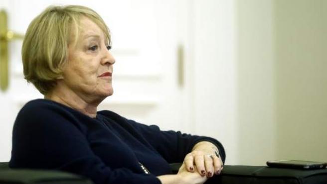 La presidenta de honor de la Academia de Cine Yvonne Blake.