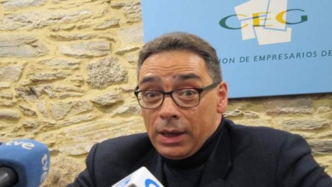 Antón Arias, presidente de la patronal gallega