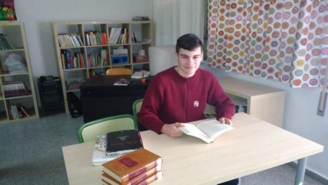 El alumno Juan María Jiménez