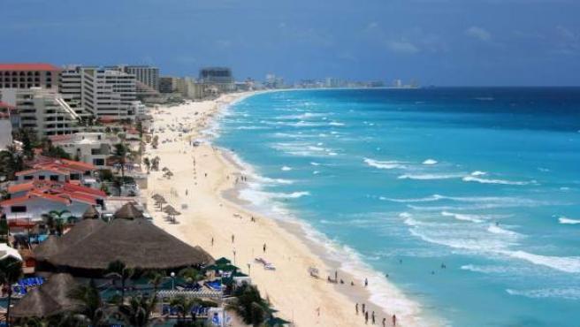 Cancún, uno de los principales destinos turísticos de México.