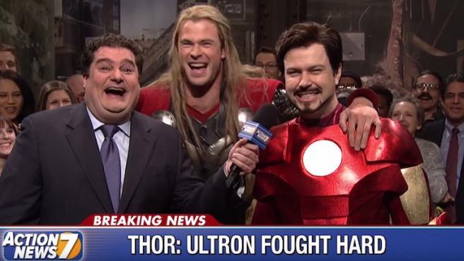 Así era el sketch de 'Saturday Night Live' que Chris Hemsworth se negó a rodar