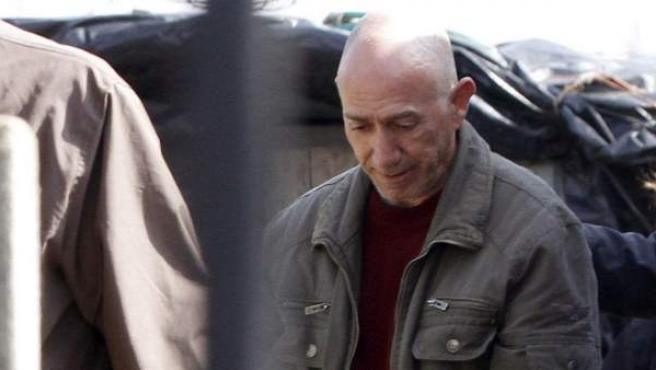 Félix Vidal Anido (c), de 50 años, conocido como el violador del estilete, este 12 de abril.