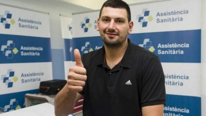 El guardameta Arpad Sterbik, en una foto de archivo.