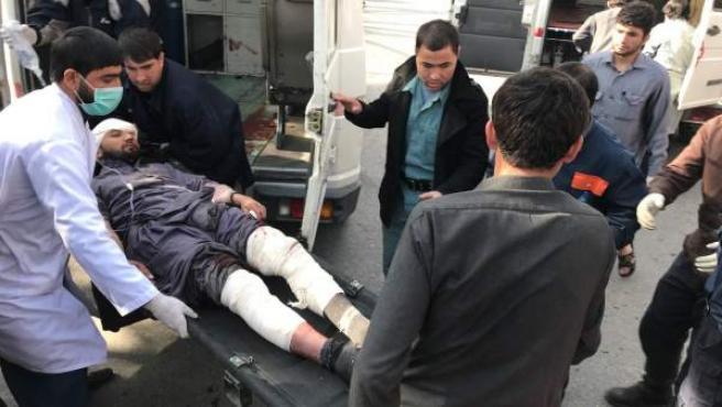Los talibanes han perpetrado un atentado en el centro de Kabul.