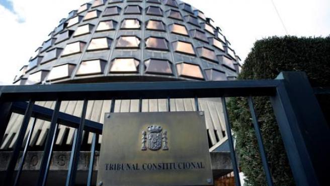 Sede del Tribunal Constitucional (TC), en Madrid.