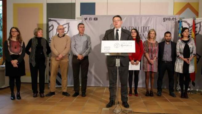 Los miembros del Ejecutivo valenciano se han reunido este fin de semana en el Seminari de Govern Hivern 2018 en Benicarló y Vinaròs (Castellón).