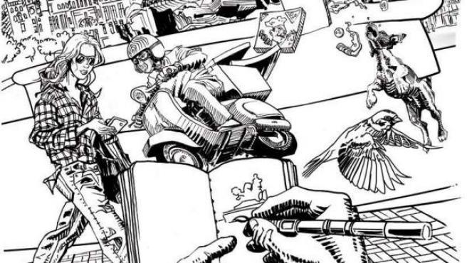 Imagen de la primera edición de Dibumad, la Feria de la Ilustración que se celebrará en CentroCentro Madrid entre el 2 y 4 de marzo.