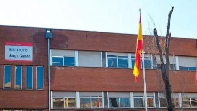 Fachada del IES Jorge Guillén, situado en Alcorcón.