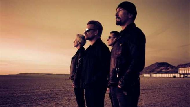 Imagen de la banda U2.