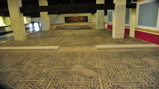 El mosaico de Calanda se encuentra en el Museo de Teruel.