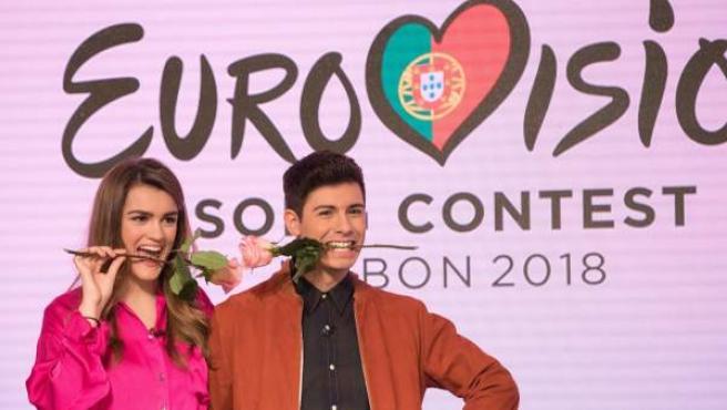 El público de Operación Triunfo eligió a Alfred y Amaia para representar a España en Eurovisión.