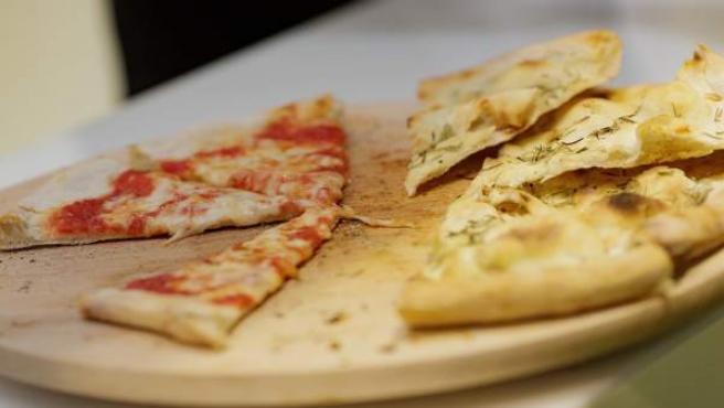 Comida, comer, picar, pizza, pizzas