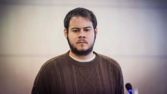 El rapero Pablo Rivadulla, conocido como Pablo Hasel.