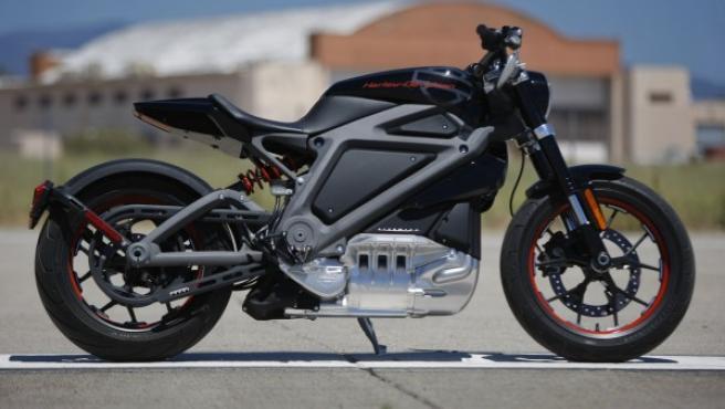 Harley-Davidson quiere convertirse en la referencia de las marcas de lujo de motos eléctricas. En imagen, el prototipo del Project LiveWire.