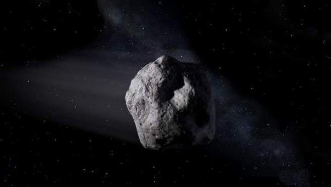 El asteroide 2002 AJ129 tendrá una longitud de mil metros y pasará a 4 milones de kilómetros de la Tierra.