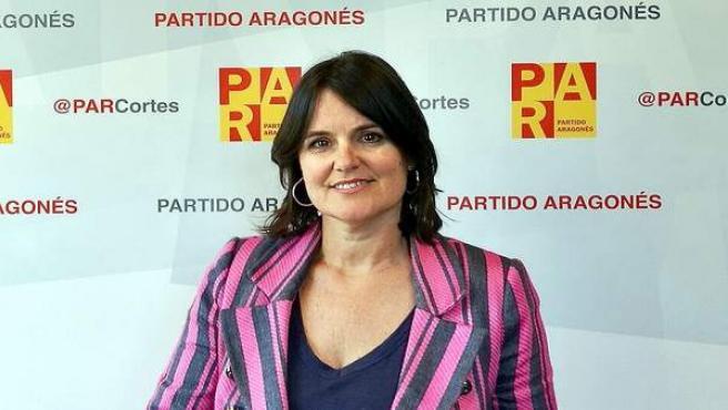 La diputada del PAR Elena Allué.
