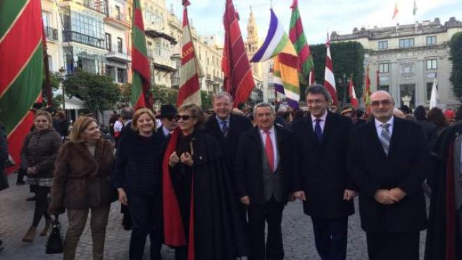 Desfile de los pendones de la provincia de León