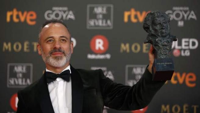 Javier Gutiérrez, Goya al mejor actor protagonista este 2018.