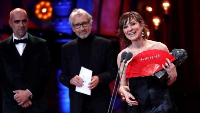 Nathalie Poza, Mejor Actriz en los Goya 2018.