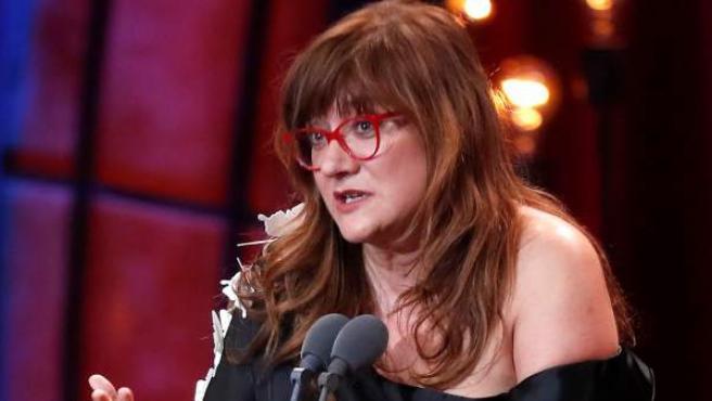 Isabel Coixet recoge uno de los tres premios Goya por 'La librería'