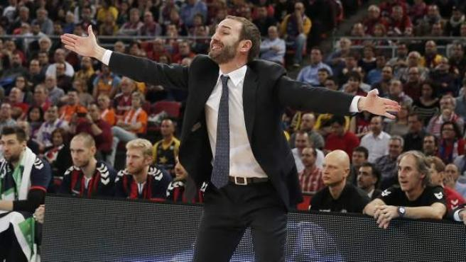 El nuevo entrenador del FC Barcelona, Sito Alonso.