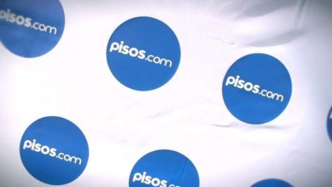 Logo de la web pisos.com