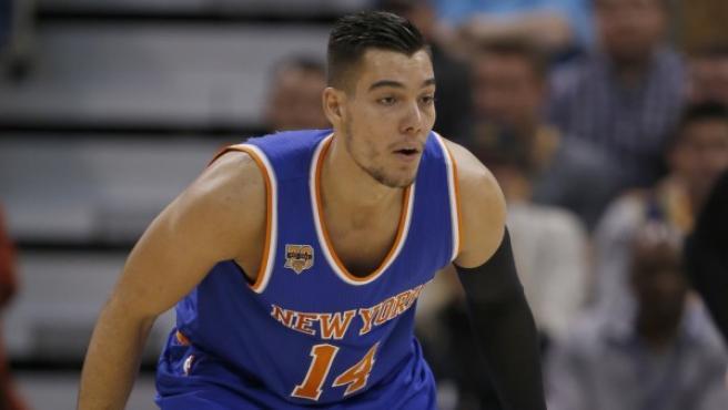 El jugador español de Knicks Willy Hernangómez.