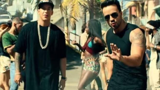 Una imagen del vídeo de 'Despacito', el éxito de Luis Fonsi y Daddy Yankee.