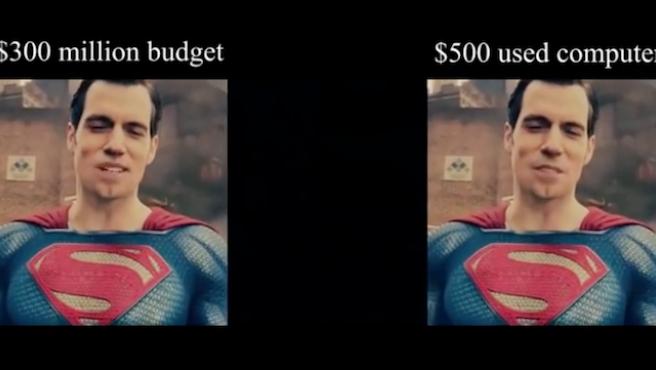 """Vídeo del día: """"Yo borré el bigote de Superman y me quedó mejor que en la película"""""""