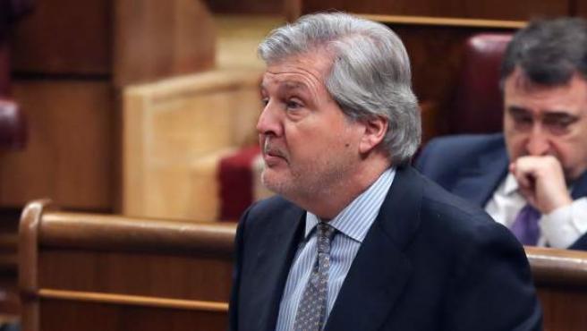 El ministro de Educación, Cultura y Deporte, Iñigo Méndez de Vigo.
