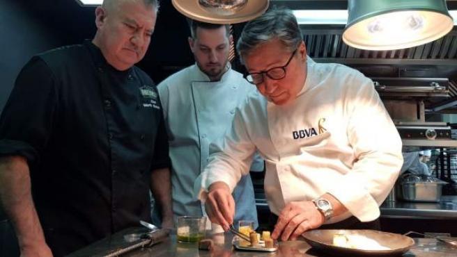 Joan Roca, en la imagen, diseñará junto a sus hermanos el menú de la cena de los Óscar.