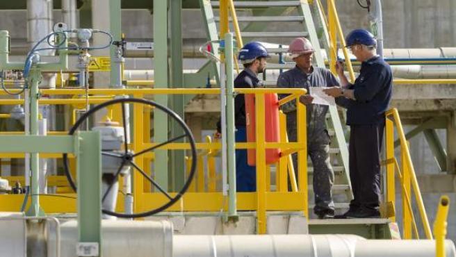 Trabajadores del sector industrial.