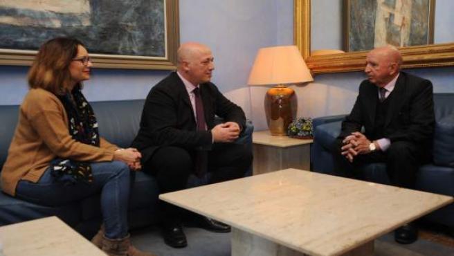 Reunión en la Diputación de Córdoba con el cónsul honorífico de Costa de Marfil