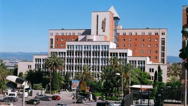 Hospital Joan XXIII de Tarragona, donde la mujer ha sido intervenida.