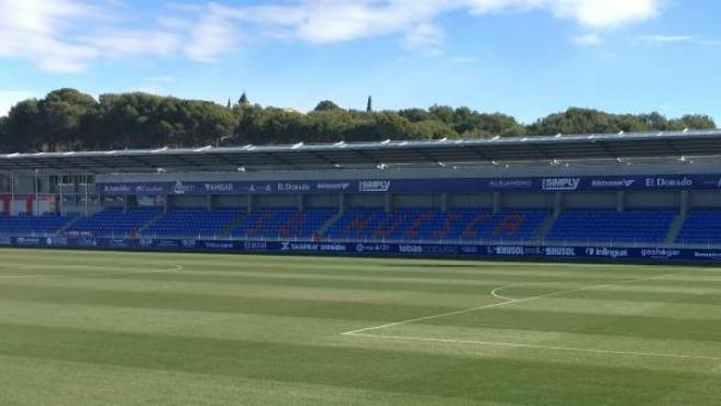 Estadio de la SD Huesca - El Alcoraz.