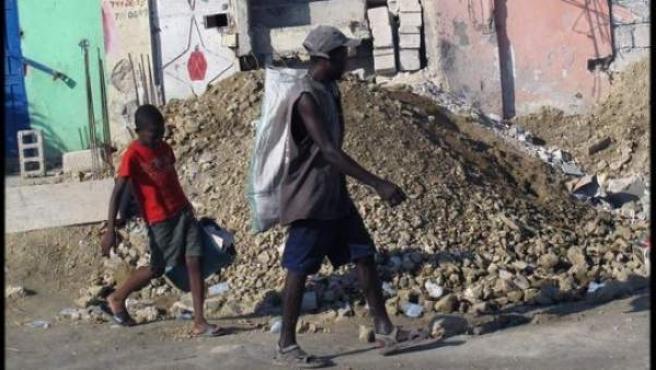 Haití tras el terremoto que asoló el país.
