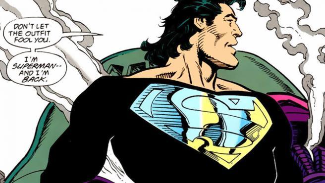 El traje negro de Superman aparece en esta escena eliminada de 'Liga de la Justicia'
