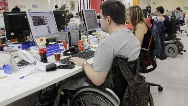 Curso para personas con discapacidad de la Fundación ONCE y Citi.
