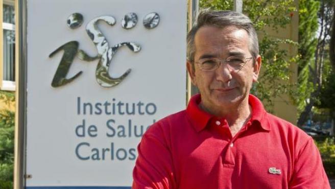 Julio Ruiz, jefe de epidemiología del IS Carlos III.