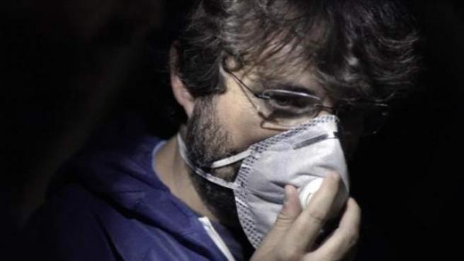 Jordi Évole, en un momento del programa de 'Salvados' dedicado a la industria cárnica en España.
