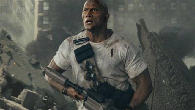 'Rampage': La última aventura de Dwayne Johnson tiene nuevo tráiler