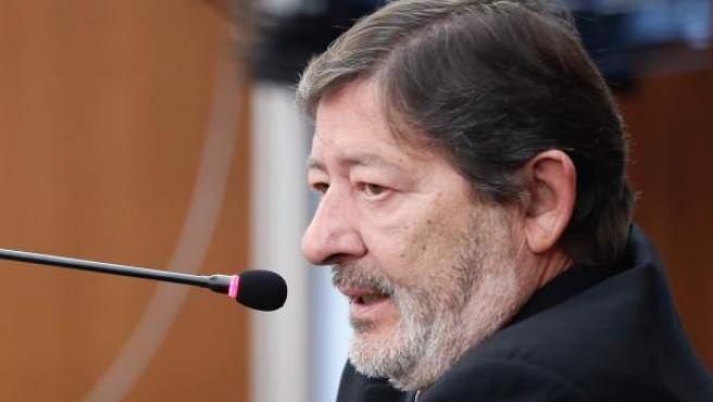 El ex director general de Trabajo Francisco Javier Guerrero, en la séptima sesión del juicio de los ERE.