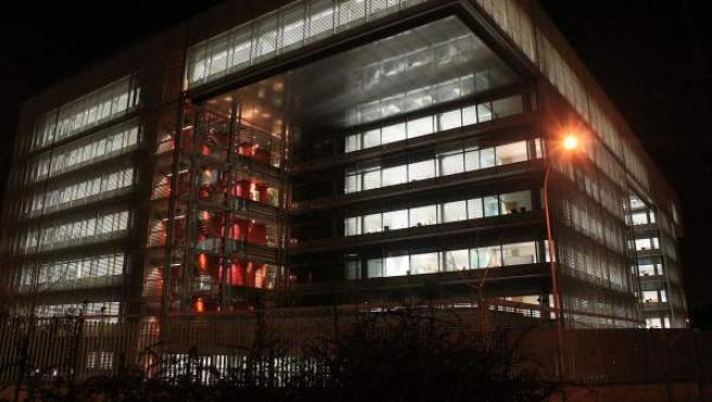 Imagen de la sede del Banco Popular en Madrid.