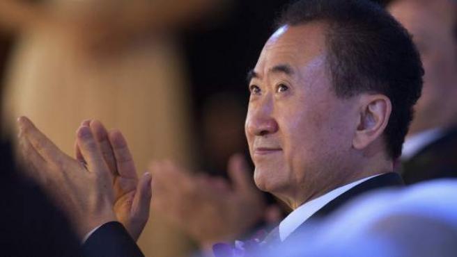 Wang Jianlin, presidente del grupo empresarial chino Wanda.