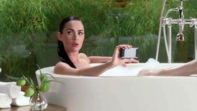 Móvil en el baño