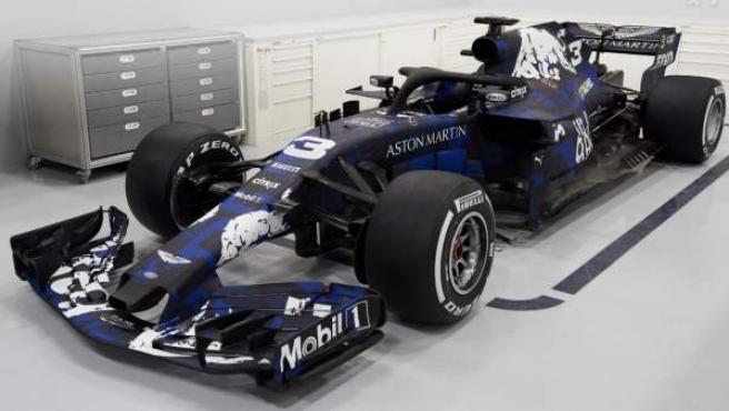 El nuevo Red Bull RB14.