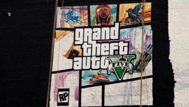 'Grand Theft Auto' (GTA V), un éxito de ventas desde 2013.