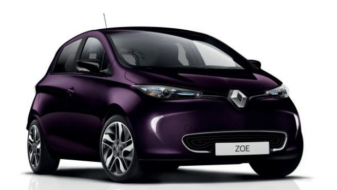 Imagen del ZOE con el nuevo color que ha incluido la marca para su carrocería: el 'Violeta Blueberry'.